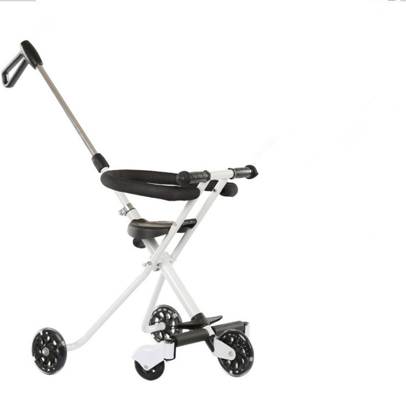 Children\'s Five-Wheeled Baby Anti Rollover Portable Folding Car Mother & Kids Activity & Gear Baby Stroller Lightweight Stroller01
