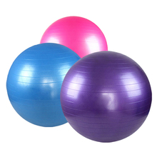 65cm Yoga Ball Pilates Aerobics Gym Fitness Home Slimming Pregnancy Birthing Exercise Ball with Free Pump  Sale BB55