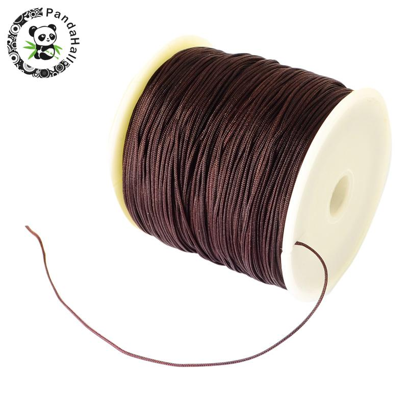 0.8mm 90m/roll Nylon Thread Cord For Bracelets Beading Necklace Jewelry DIY Accessories Making 11