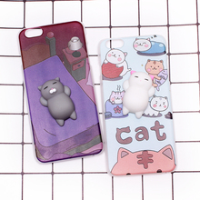 For Wileyfox Spark Storm Swift Swift 2 Swift 2 Plus Solf TPU Squishy Stereo Cat Claw Doll Case Mobile Phone Cover Bag Cellphone(China)