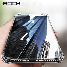 Anti-knock Case for iPhone 8 8 plus, ROCK Air Bag Protection Case for iPhone 8, TPU Transparent Cover Case for iPhone8