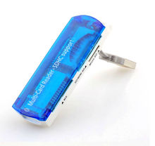 2015 New Hot All in 1 USB 2.0 Multi Memory Card Reader Adapter Connector For Micro SD MMC SDHC TF M2 Memory Stick MS Duo RS-MMC
