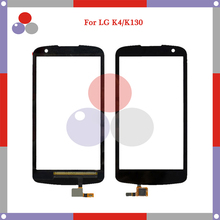 "Buy 4.5"" Touch Screen LG K4 K120 K121 K130 K130E Touch Screen Panel Sensor Digitizer Outer Glass Lens for $3.99 in AliExpress store"