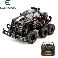 ET RC Vehicles Hobby 6-WHEEL 1/10 Scale 27MHZ RTR Brushed Monster Truck Off-road Car YE81401