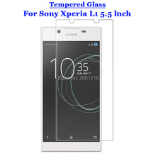 For Sony Xperia L1 Tempered Glass 9H 2.5D Premium Screen Protector Film For Sony Xperia L1 G3311 G3312 G3313 5.5""