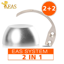 Universal Magnetic Detacher EAS Tag Remover 2Pcs Golf Detacher 12000gs+ 2pcs Detacher Hook EAS Hook Detacher