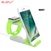 RAXFLY Desktop Stand Holder For iPhone 6 7 Xiaomi Redmi 4 Pro 4C 5S Bracket Cradle Dock Station For Samsung S8 J5 Huawei Mate 9