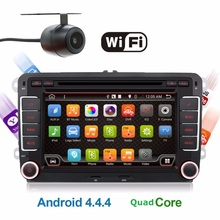 Android 6.0 2 Din 7 Inch Car DVD Player for VW GOLF 5 6 POLO PASSAT CC JETTA TIGUAN TOURAN EOS SHARAN SCIROCCO TRANSPORTER CADDY(China)