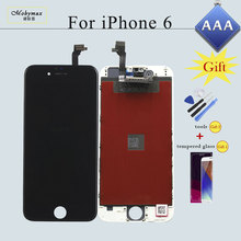LCD Screen for iPhone 4S 5 5S 6 6 Plus Replacement Ecran Pantalla Repair LCD Display Touch Screen Digitizer&LCD Assembly Verre(China)