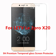 10pcs/lot 9H Screen Protector For LETV Le 2pro X20 X25 letv pro2 Ultra Thin HD Clear Premium Tempered Glass Protective Film