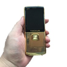 2017 Original TKEXUN 8800 8800i Flip Phone Dual Sim Camera MP3 MP4 Dual Flashlight 2.8 Inch Luxury Cell Phone(China)