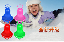 Children Winter Ski piece seal cartoon ski board Skid grass pry can be connected to the ski sled