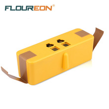 For iRobot Roomba 14.4V 4600mAh Floureon Lithium-ion Battery Pack for iRobot Roomba Vacuum Cleaner 500, 600, 700, 800 Series