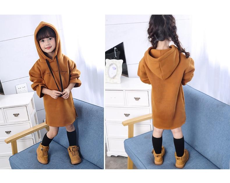 فستان طويل الاكمام للاطفال 5