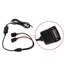 Car Charger Dual USB /USB Female /Micro USB/Mini USB Output 12V to 5V 3A Power Supply Converter For PDA DVR Camcorder Adapters