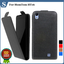 Buy Factory price, Top new style flip PU leather case open HomTom HT16, gift for $4.23 in AliExpress store