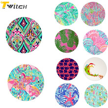 Tablets 10 pcs round patterns pop Expanding Stand Phone Holder finger holder for iPhone 8 7 6s Samsung Xiaomi Redmi huawei sony(China)