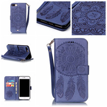 Campanula Flower Phone Case For Samsung Galaxy S5 S6 S7 Edge Plus Luxury Book style wallet Card Holder Back Cover Coque