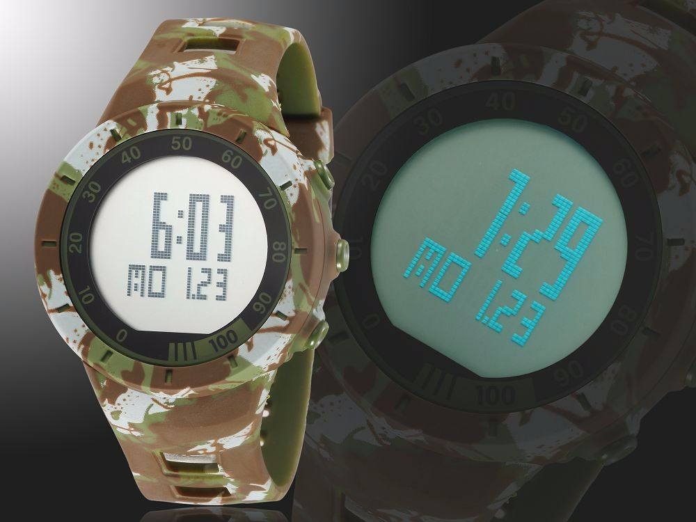 Digital LED Watch Army Green Men Sports Wristwatches Rubber Strap Waterproof Fashion Alarm Watch Clocks Stopwatches Reloj Hombre 9