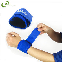 1Pc Adjustable Sport Wrist Support Wristband Wrist Brace Wrap Bandage Support Band Gym Strap Safety sports wrist protector GYH