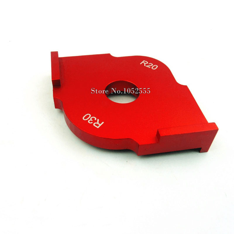 Brand New 1PCS R10 x R15 + 1PCS R20 x R30 Corner Radius Quick-Jig Template For Engraving and Router Machine<br><br>Aliexpress