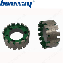 Supply D90x40T CNC Continuous Segmented Diamond Standard Groove Wheel For Granite Marble(China)