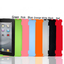 1 PC Slim Back Case Suits Smart Cover Partner for iPad 2 3 Multi-Color(China)
