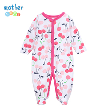 Mother Nest 2017 Winter Baby Rompers Clothes Newborn Boy Girl 100% Cotton Long Sleeves Baby Jumpsuit Clothing Baby Products