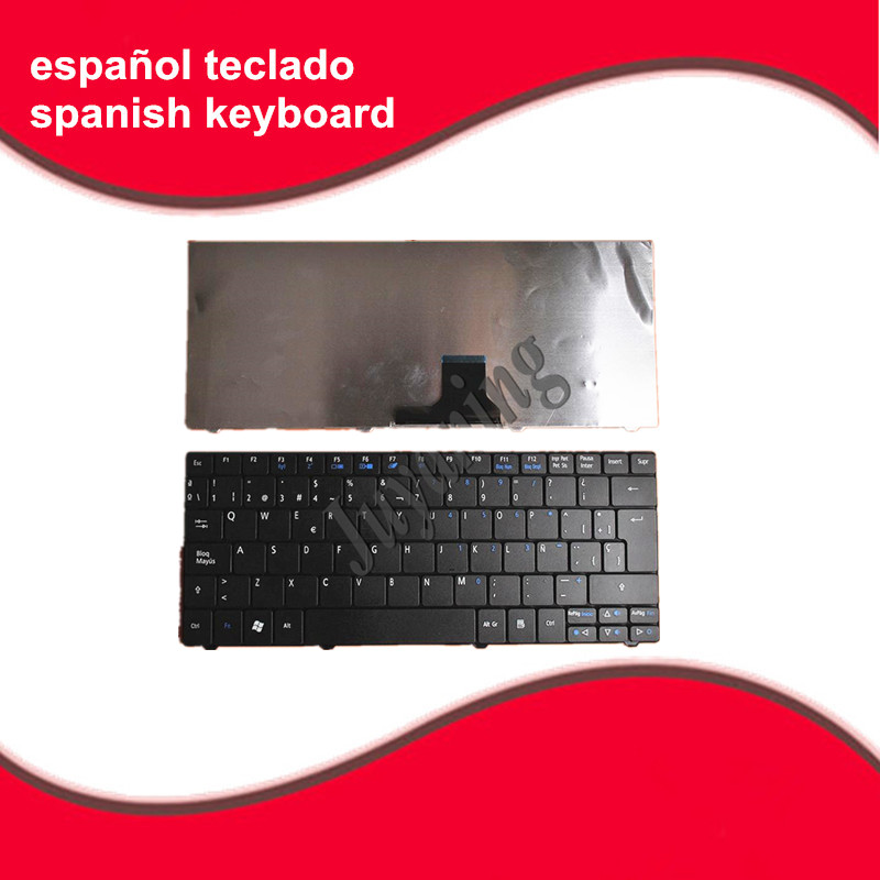 Spanish keyboard For acer aspire one 751 751H ZA3 ZA5 715 752 753 753H 722 721 1410 1810T AO751 AO751H 752H laptop SP keyboard(China)