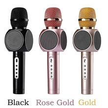 Wireless Karaoke Microphone E103 Family Party KTV Tone quality Bluetooth Fit Smartphone PK Q7 K068  Global free shipping
