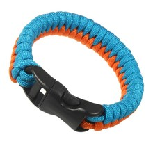 EDC Emergency Paracord Bracelet 7 core Umbrella Ropes Hand Braided Unisex Sport Camping Hiking Parachute cord Survival rope(China)