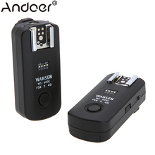 2.4Ghz 16 Channels Wireless Flash Trigger Synchronized Shutter Release Remote Control Transceiver for Canon WS-603C