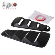 Dyno racing  Car Styling JDM Car Sticker 1/4 Quarter Side Window Louvers Scoop Cover Vent for Ford Mustang 2005-2014
