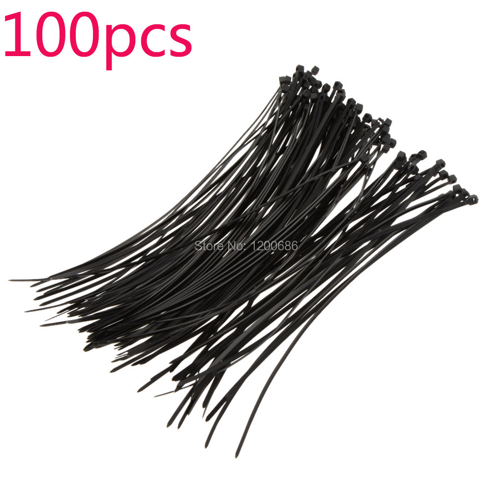 Popular 3m cable ties buy cheap 3m cable ties lots from china 3m cable - 100pcs 20cm Fire Resistant Plastic Nylon Cable Ties Zip Wire Wrap Fasten Strap Self