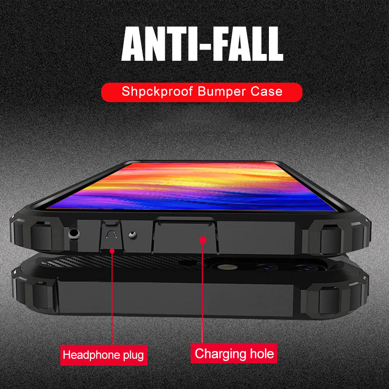 Luxury Armor Shockproof Case On The For Huawei P20 Lite P30 Pro Silicone Bumper Case Cover For Huawei P30 Lite P20 Pro Soft Case(China)