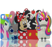 For HTC Desire 626 Case Hot 3D Soft Silicone Cartoon Minnie rabbit Phone Cover Back shell For HTC Desire 626 626W 626D 626G 626S