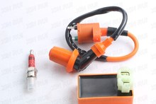 Racing 6 Pins CDI Ignition Coil Spark Plug GY6 50cc 125cc 150cc Scooter ATV Quad Moped Pit Dirt Bike Go Kart New