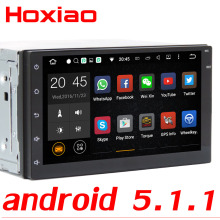 Android Quad Core 16G Car GPS android 5.1.1 Player 2 din radio New universal Navigation For Nissan series Wifi GPS 2DIN AUTO