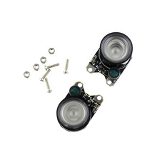 2pcs Infrared LED Light 3W 850 Raspberry Pi Camera Board Module Night Vision Infrared IR(China)