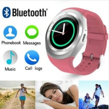 Y1 Bluetooth Smart Watch Women relojes Sim Card Calendar relogio inteligente Smartwatch wearable devices For IOS Android Phone(China)