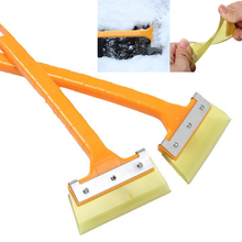 Car-styling Handheld Auto Snow Cleaning Remover Windshield Snow Shovel Ice Scraper Snow Brush Scraper Car Ice Scraper(China)