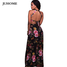 large sizes sexy party clubwear runway dress 2017 women high quality floor length gown brand Evening long style dress robe femme(China)