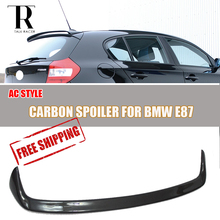 E87 Carbon Fiber Rear Roof Window Spoiler for BMW E87 120i 130i 135i 2004 - 2011 Auto Racing Car Styling Tail Roof Wing