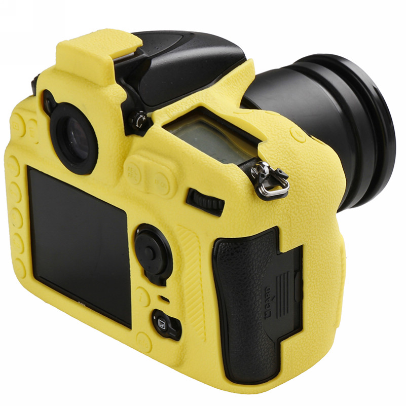 Soft Silicone Rubber Camera Bag For Nikon D810 D800 D850 Protective Body Case Skin DSLR Camera Rubber Cover Bag (7)