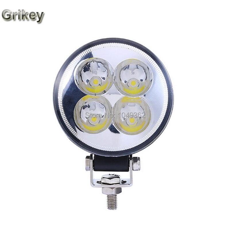 2pcs 12W Car Round Fog Lamp Daytime Running Light  IP67 Waterproof Driving Work Lights Headlight 3 inch<br><br>Aliexpress