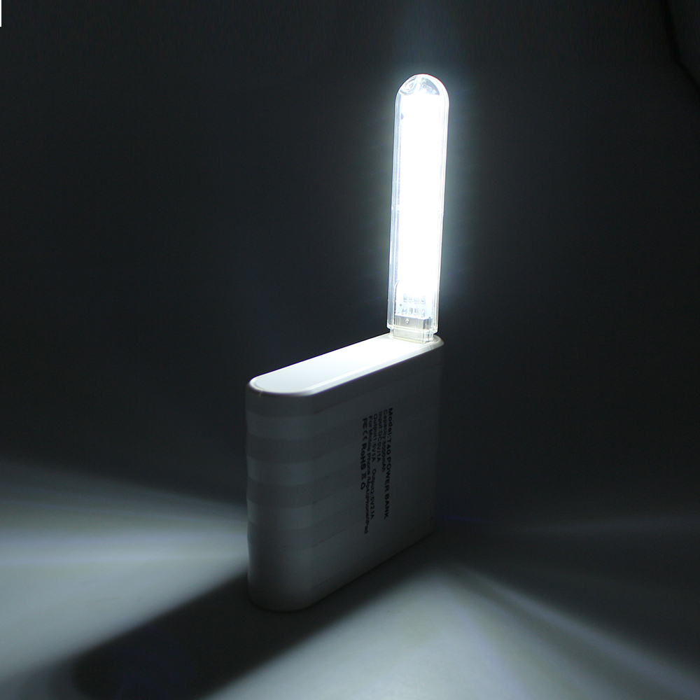 Active Components Confident Black Led Lamp Bulb Keychain Pocket Card Mini Led Night Light Portable Usb Power 5pcs High Standard In Quality And Hygiene