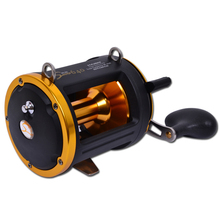 All Metal Big Baitcasting Fishing Reel Boat Trolling Reel Saltwater Fishing Deep Water Jig Coil Drum Type Bait Caster 6BB 15kg(China)