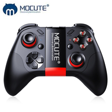 MOCUTE 054 Wireless Gamepad Bluetooth Game Controller Joystick For Android/iSO Phones Mini Gamepad Tablet PC VR box(China)