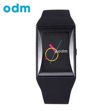 ODM Luxury Men Women Unisex Black Clock Waterproof Fashion Hours Casual Military Quartz Hot Brand Silicone Sports Watches DD132(China)