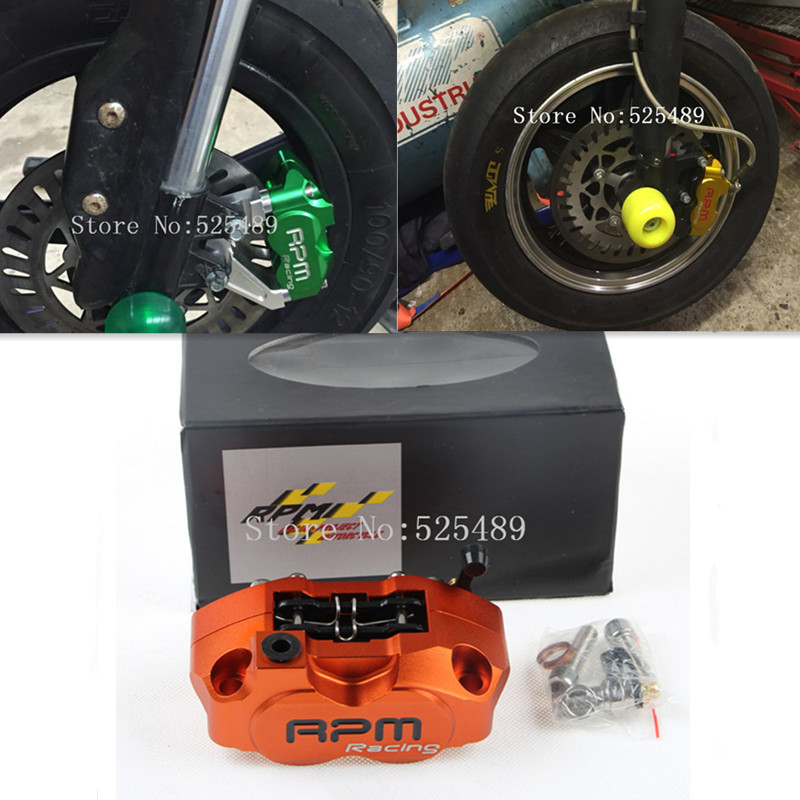 RPM Brand CNC Motorcycle Scooter Brake Calipers Brake Pump For 200mm/220mm Brake Disc Yamaha Nitro Aerox BWS 100 JOG 50 rr Zuma<br>